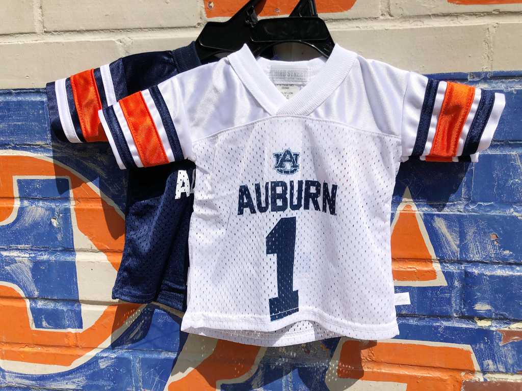 new product 7288b 4e4be Third Street Sportswear Auburn #1 Infant and Toddler Jersey