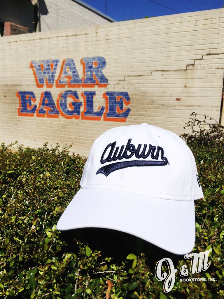Auburn Throwback Vault Logo Hat White