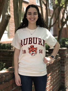MV Sport Arch Auburn 1856 Vintage Aubie T-Shirt