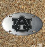AU Oval Pewter Plate