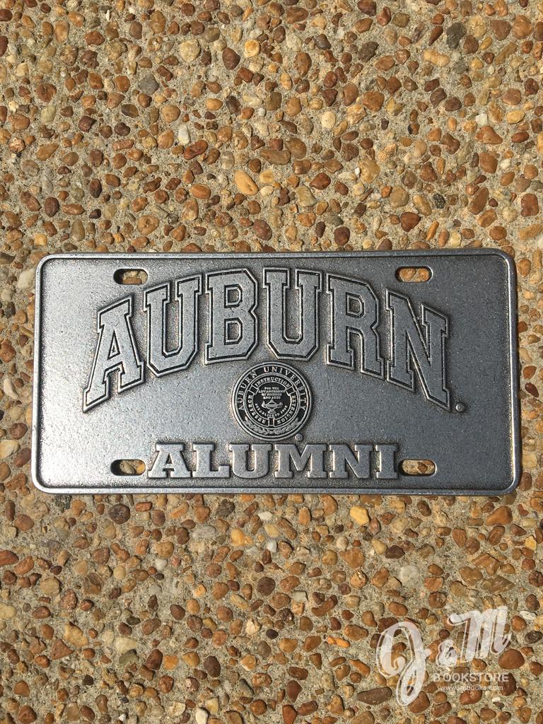 Arch Auburn Seal Alumni Plate