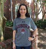 Under Armour Arch Auburn Vintage Aubie Head UA T-Shirt