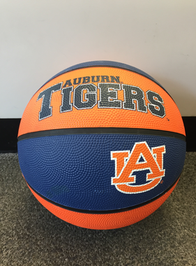 Auburn Tigers AU Rubber Basketball