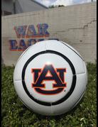 AU White Soccer Ball