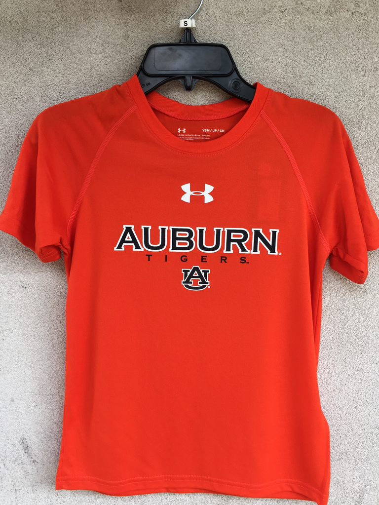 Under Armour Auburn Tigers AU Youth NuTech T-Shirt