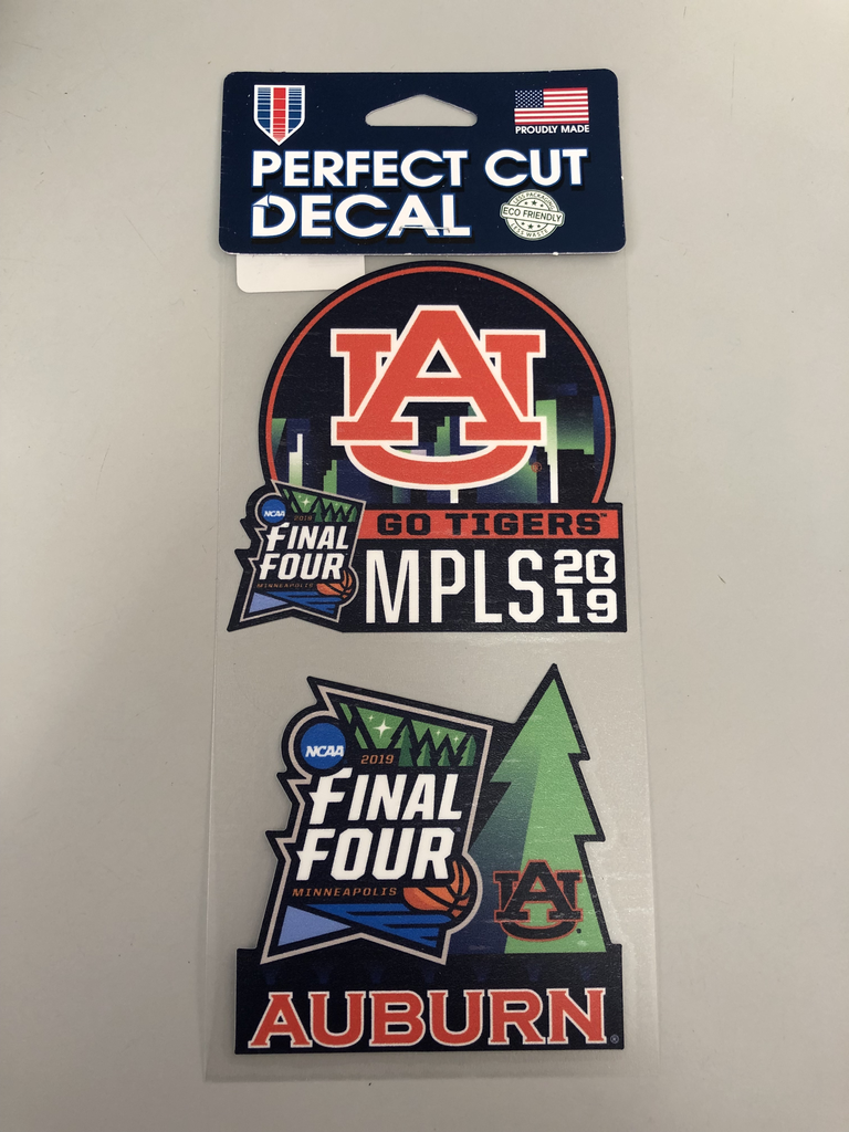 AU Final Four 2 Pack Decal