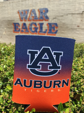 AU Auburn Tigers Ombre Can Hugger