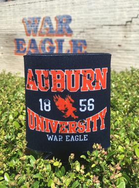 Auburn University Flying Eagle Can Hugger