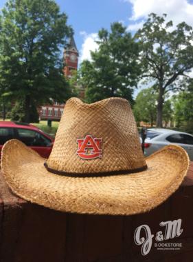 Wrangler Distressed Raffia Cowboy Hat