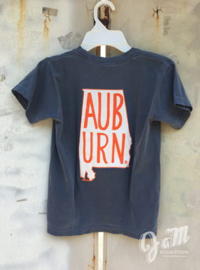 MV Sport AUB URN State Outline Youth T-Shirt