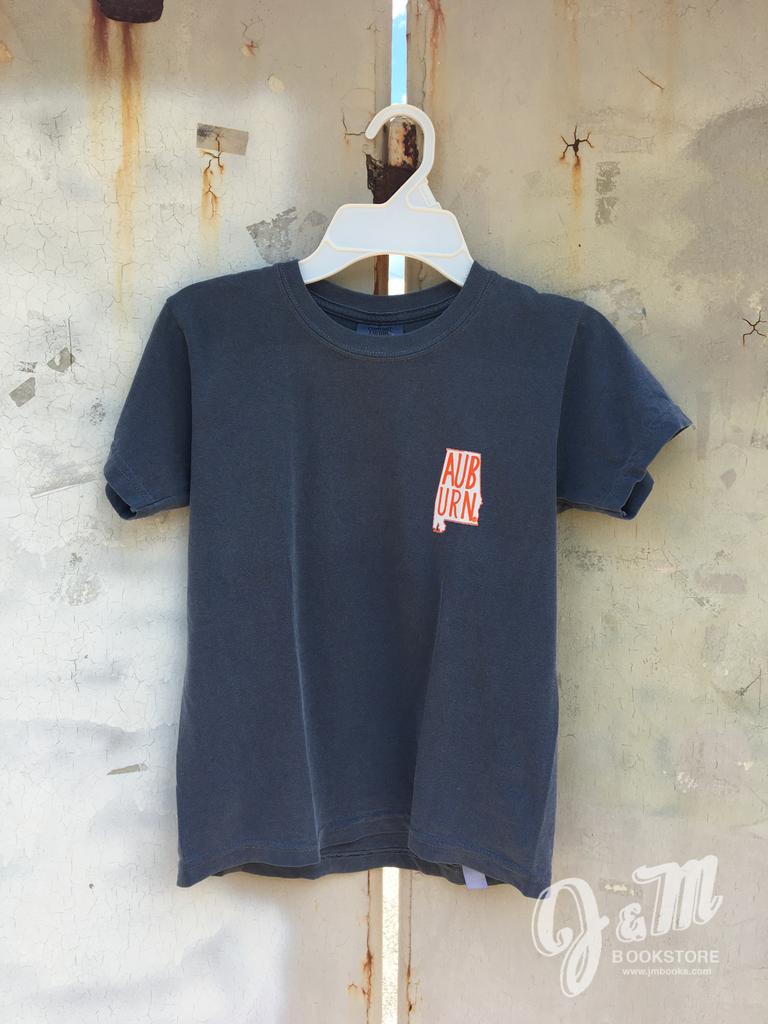 MV Sport AUB URN State Outline Youth T-Shirt