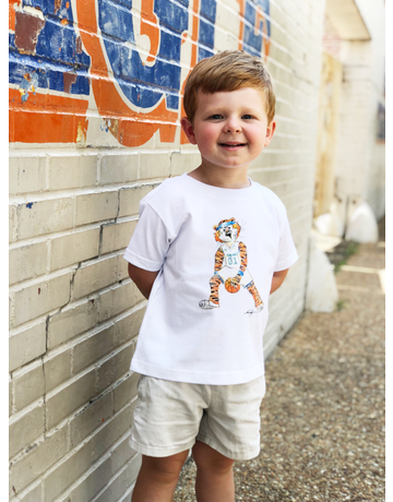 Aubie Basketball Toddler T-Shirt