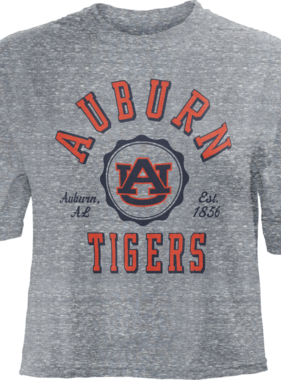 Auburn AU Tigers Bishop Crop Top
