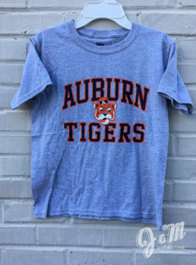 MV Sport Arch Auburn Vintage Aubie Tigers T-Shirt