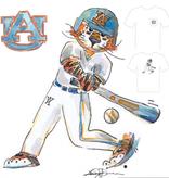 Aubie Baseball T-Shirt