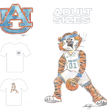 Aubie Basketball T-Shirt