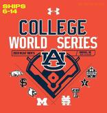 Under Armour AU 2019 College World Series Multi-Team T-Shirt