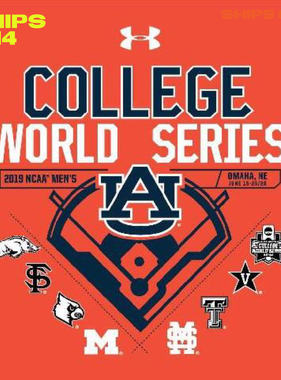 Under Armour AU 2019 College World Series Multi-Team T-Shirt