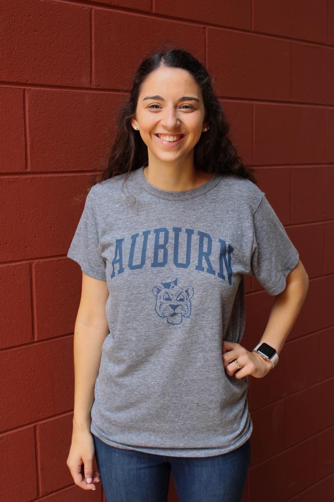 League Arch Auburn Vintage Aubie Victory Falls T-Shirt