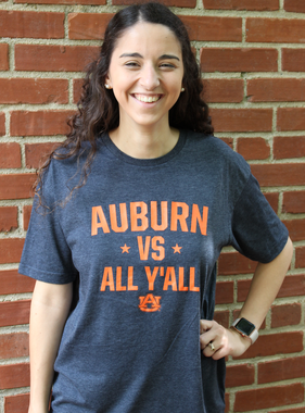 Auburn vs All Y'all T-Shirt