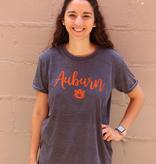 Script Auburn AU Gertrude T-Shirt