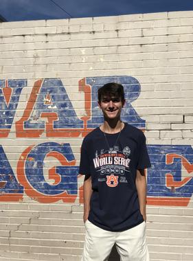 Retro Brand AU 2019 College World Series Omaha War Eagle T-Shirt