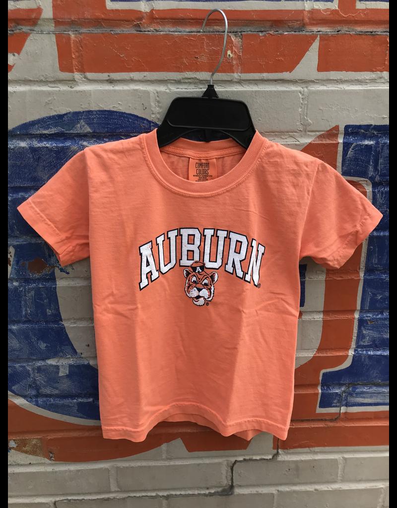 MV Sport Arch Auburn Vintage Aubie Youth T-Shirt