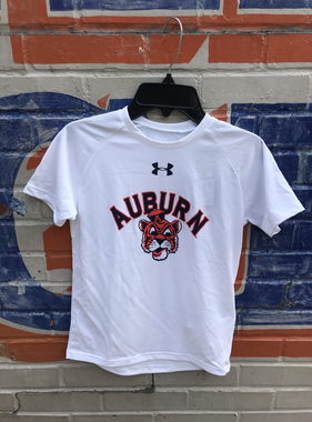 Under Armour Arch Auburn Vintage Aubie Youth T-Shirt
