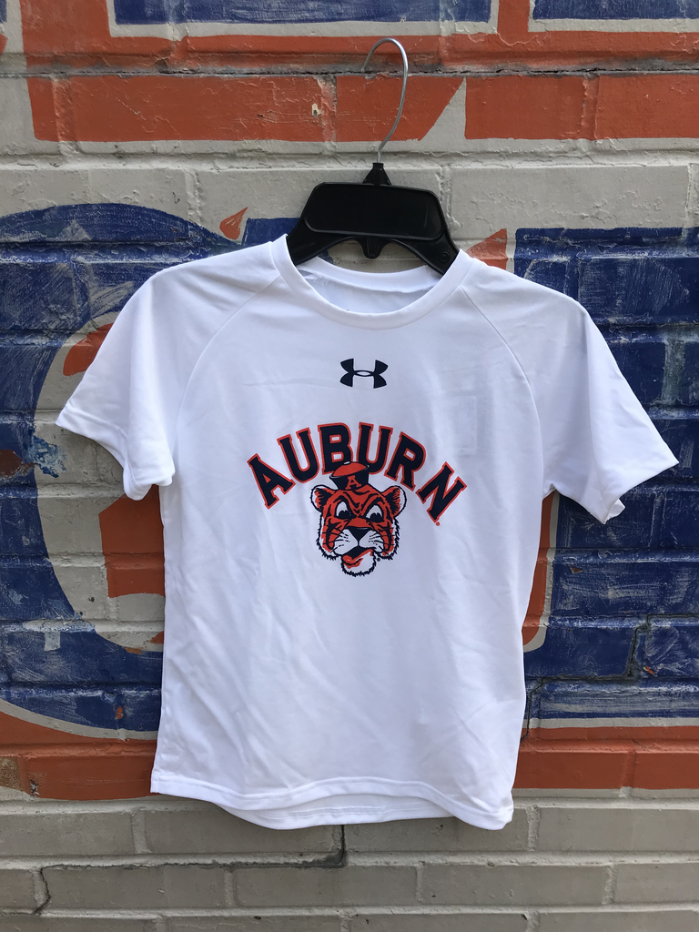 Under Armour Arch Auburn Vintage Aubie Youth T-Shirt