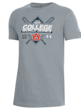 Under Armour AU 2019 College World Series Youth T-Shirt