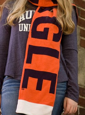 The Game War Eagle Two Sided Scarf