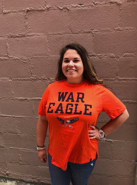 Under Armour Bold War Eagle Eagle Thru A Ladies Performance T-Shirt