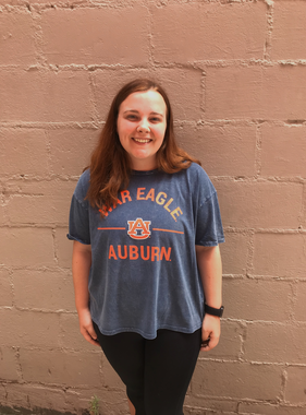Chicka-D War Eagle AU Auburn Knot T-Shirt