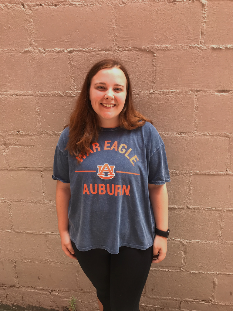 Chicka-D War Eagle AU Auburn Knot T-Shirt