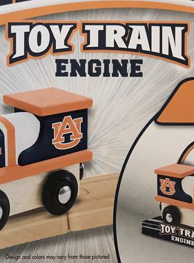 Auburn Train with Display Stand