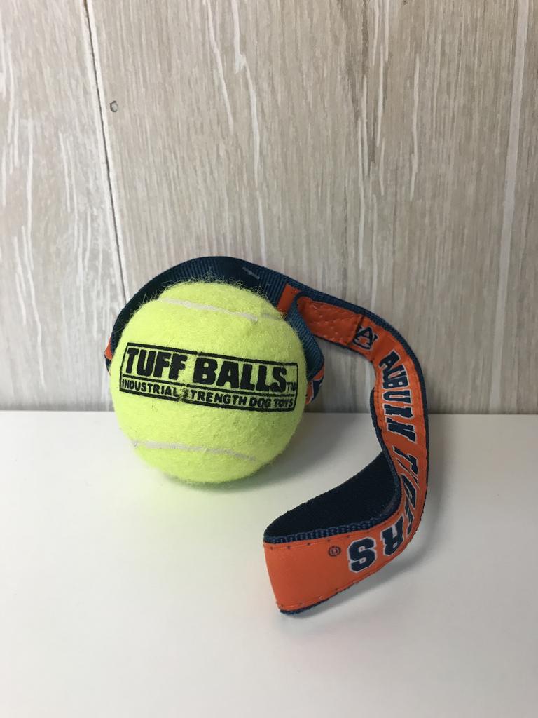 Auburn Tigers Tuff Tennis Ball Dog Toy