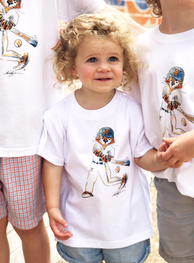 Aubie Baseball Toddler T-Shirt