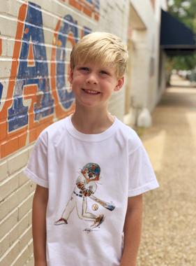 Aubie Baseball Youth T-Shirt