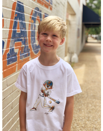 Aubie Baseball Youth T-Shirt