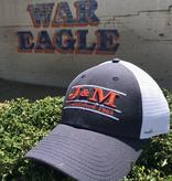 The Game J&M Established 1953 Three Bar Mesh Hat