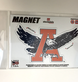 "3"" Eagle Thru A Magnet White Background"