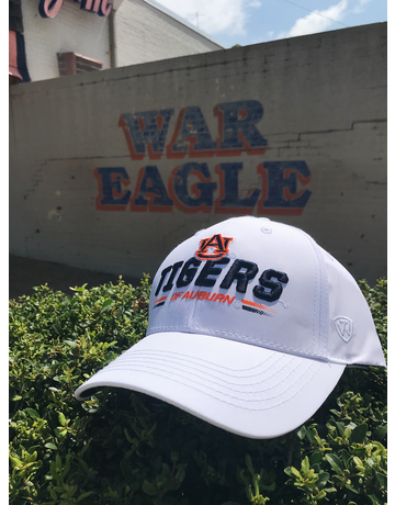 AU Tigers of Auburn Centralize Hat, White