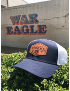 Auburn Tigers AU on Brown Diamond Patch Two-Tone Mesh Hat