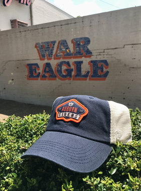 AU Auburn Tigers Patch Two-Tone Mesh Hat
