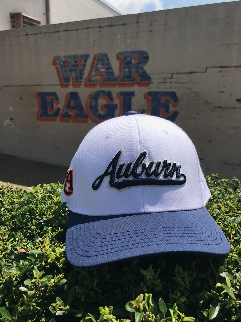 Two Tone Classic Auburn Infield One-Fit Hat