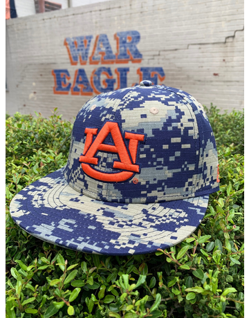 The Game AU Digital Camo Sized Flatbill Baseball Hat