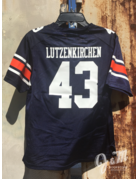 Under Armour #43 Youth Football Jersey