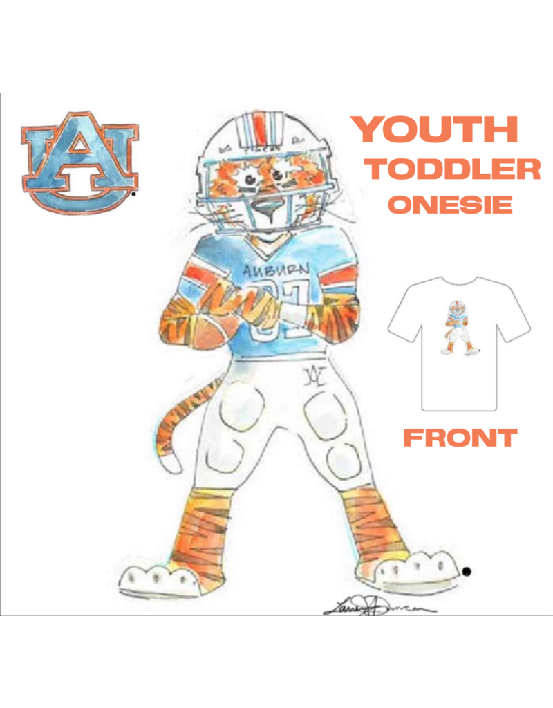 Aubie Football Toddler T-Shirt