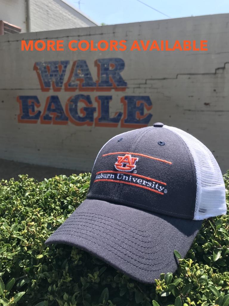 AU Auburn University Two Tone Bar Mesh Hat
