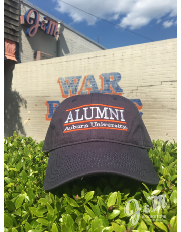 The Game Alumni Three Bar Auburn University Navy Hat